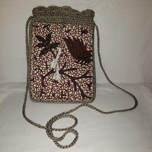 Adorable little purse! Handmade
